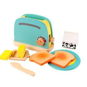 China Wooden bread machine toy set