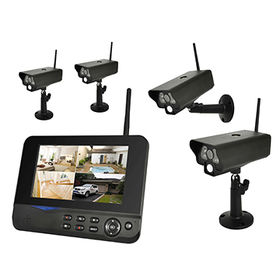 4CH outdoor Wireless IP security cameras wireless system kit