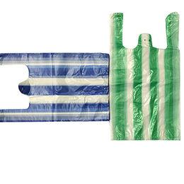 China HDPE t-shirt plastic shopping bags