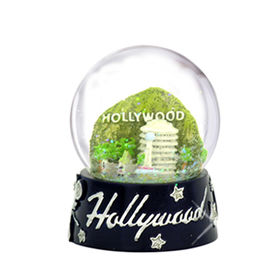 New resin Hollywood Snow Globe from China (mainland)