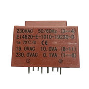 PCB mount type encapsulated transformers from China (mainland)