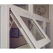 China UPVC awning window top hung window