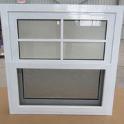 Single vinyl American style PVC hung window from China (mainland)