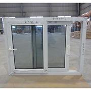 Double glazed glass sliding style UPVC windows Qingdao Jiaye Doors and Windows Co. Ltd