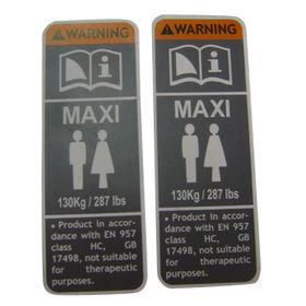 PVC Adhesive Label from China (mainland)