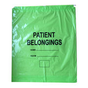 Green Film Patient Belonging Bag, with Drawstring from Everfaith International (Shanghai) Co. Ltd