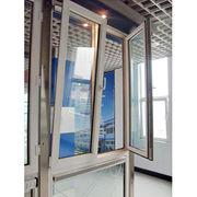 Double glass UPVC profile tilt and turn window Qingdao Jiaye Doors and Windows Co. Ltd