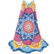 Mandala Lotus Beach Towel from China (mainland)