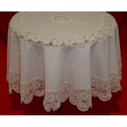 India Crocheted Table Cover