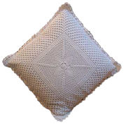 India Crocheted Bed Set