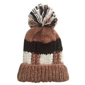 Men's knitted hat from China (mainland)