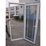 China Security french casement grill design cheap upvc window door