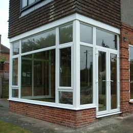 Combination Design Sliding and Casement Pvc Window
