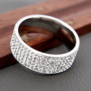 New fashionable in Europe and America sell like hot cakes zircon ring from HK Yida Accessories Co. Ltd