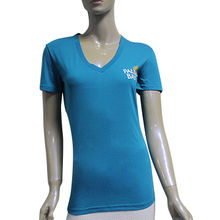China Women's V-neck T-shirts