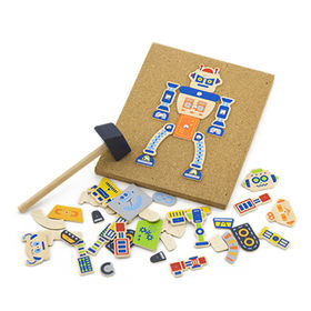Funny wooden DIY toy from China (mainland)