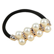 Han edition double row diamond pearl bracelet with rope from HK Yida Accessories Co. Ltd