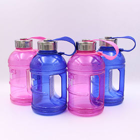 China 1L BPA free plastic water jug, wholesale, with handle (KL-8005B)