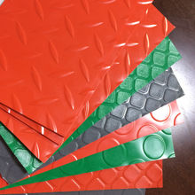 Composite Ribbed Rubber Mat from China (mainland)
