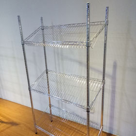 3-tier metal kitchen shelf rack from China (mainland)