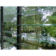 Adjustable aluminum profile glass louvers from China (mainland)