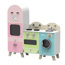 China Wooden toy kitchen appliances