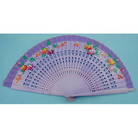 China Wooden hand fans