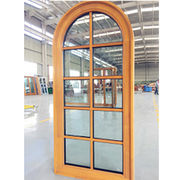 Aluminum Clad Wood Casement Window Built-in Blinds Qingdao Jiaye Doors and Windows Co. Ltd