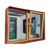Aluminum and Wood Composite Window