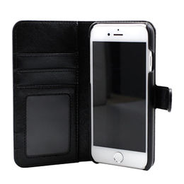 Wallet PU Leather Case for iPhone 7 Plus, with Removable Snap-on Cover from Beelan Enterprise Co. Ltd