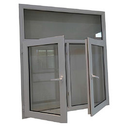 UPVC Glass Casement Window