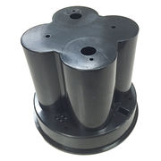 ABS molded cover,with good finish and high precision, Small Orders are Accepted from Huayuexin Precise Ware Co. Ltd