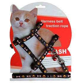 Cat Harness Leash from China (mainland)