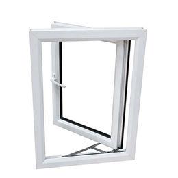 Plastic UPVC Casement Double Glass Swing Window Qingdao Jiaye Doors and Windows Co. Ltd
