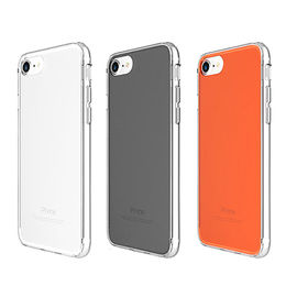 Ultra-slim Scratch-resistant Clear Case with Clear Back Panel, for iPhone from Beelan Enterprise Co. Ltd