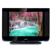 21-inch pure flat TV with revolving stand from GUANGZHOU SHANMU ELECTRONICS PRO.CO.,LTD