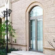 Modern Champagne Aluminum Glass Swing Door from China (mainland)