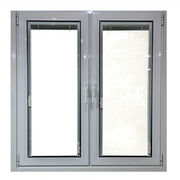 Powder Coated White Color Aluminum Casement Window
