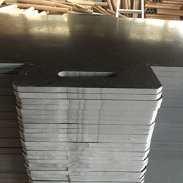 Oil resistant black punched rubber sheet buffering from China (mainland)