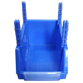 China Plastic hang bin, 205W X 353 D X 155H mm, made of PP or PE, any color