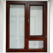China Aluminum oak wood composite window