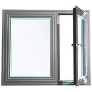 aluminum glass swing window