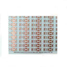 White flexible led pcb 30pcs/panel OSP flex pcb fp from China (mainland)