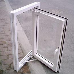 60mm casement type reinforced pvc window Qingdao Jiaye Doors and Windows Co. Ltd