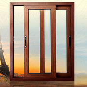 China Aluminum wood composite sliding window