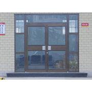 exterior tempered glass aluminum kfc door Qingdao Jiaye Doors and Windows Co. Ltd