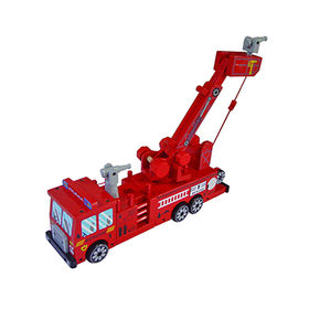 Wooden crane truck toy from China (mainland)