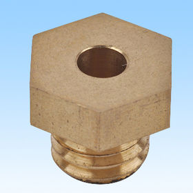 CNC brass coupling parts from China (mainland)