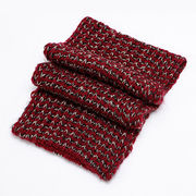 Women's knitted snood scarf made of 100% acrylic, measuring 70 x 40cm from Hangzhou Willing Textile Co. Ltd