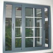 Double glazed white color aluminum sliding window Qingdao Jiaye Doors and Windows Co. Ltd
